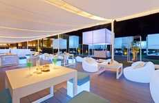 Glowing Garden Bistros - The Integrated Field 'Ingfah Restaurant' is Breezy and Luminous