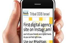 Zero-Cost Social Photo Promos - Tribal DDB Instagram Campaign Builds Awareness of Agency