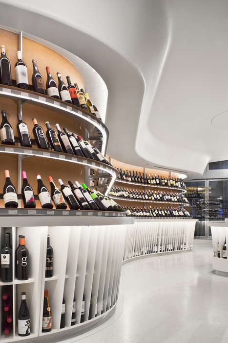 The Rogers Marvel Architects 'Vintry Fine Wine' Shop is Eye Ca