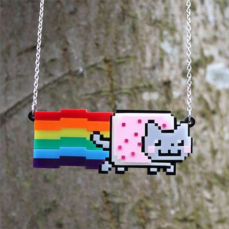 Adorable Kitty Meme Pendants