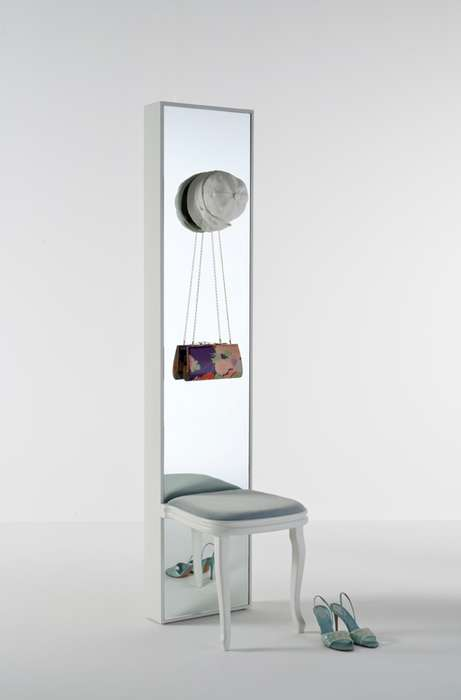 The 'Secret Mirror' by Lorenz Kaz is Great for Small Spaces