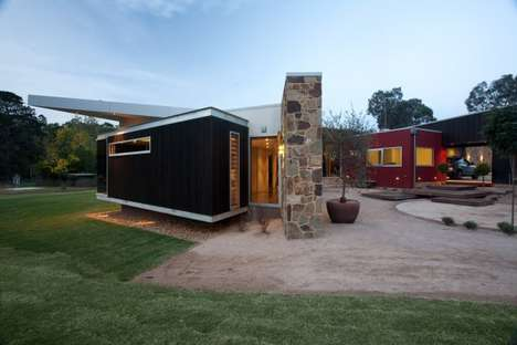 Contemporary Rustic Cottages