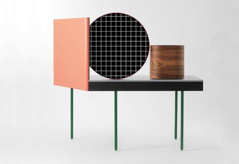 Bindi-Inspired Dressers