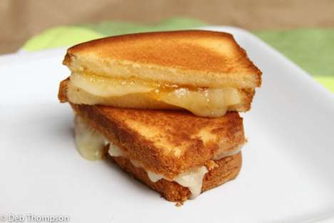 Sweet Skillet Sandwiches - The Pound Cake and Brie Grilled Cheese is a Sugary Take on the Classic