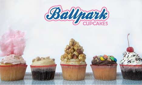 Decadent Baseball-Themed Sweets - These Ballpark Cupcakes Pay Homage to Classic Sporty Cuisine