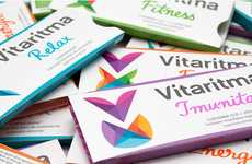 Vibrant Vitamin Branding - Vitaritma Packaging Exudes a Symptom of the Supplements, Vitality