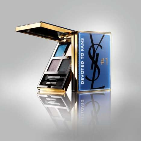 Social Media-Themed Cosmetics - Yves Saint Laurent Facebook Palette is for Devoted Fans