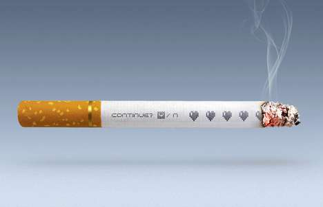 Gamified Anti-Cigarette Ads