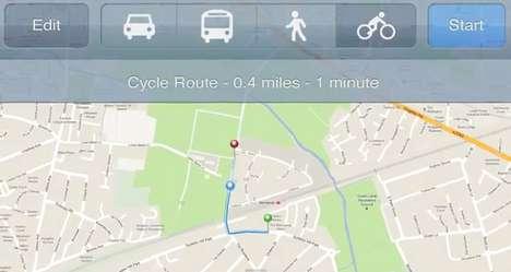 Bike Path Planning Maps