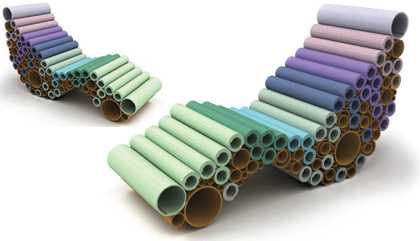 Recycled Carpet Sample Furniture