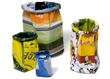 Recycled Popcorn Bags - Eco-Chic Waste