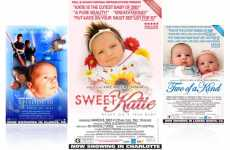Faux Movie Posters to Announce Babies