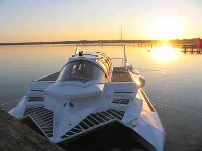 Power Boats that Dive