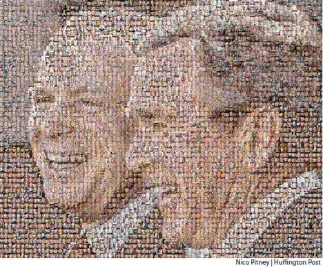 Mosaics With a Message - 4,000 Americans Dead