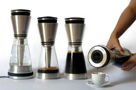 Gravity Defying Coffee Makers