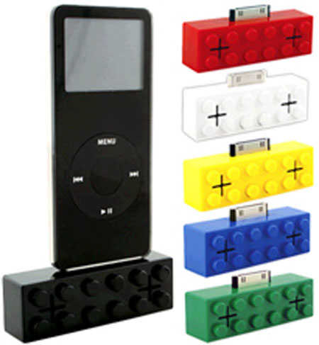 Retro Block iPod Speaker