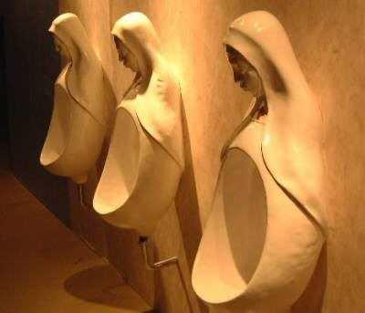 Vatican Urinals