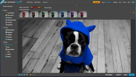 Free Photo Editing Programs - Adobe Photoshop Express