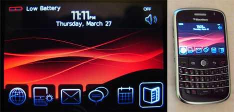 Blackberry 9000 Leaked