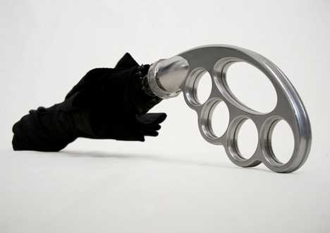 Brass-Knuckle Umbrella - Umbuster