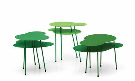 Green Rainforest Tables