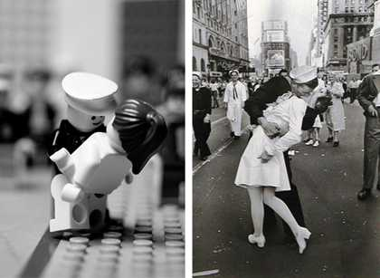 Photo Journalism in LEGO - Mike Stimpson's Playful Reproductions