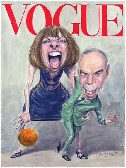 Controversial Fashion Parodies - Vogue Cover Spoofed