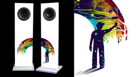 The 'Urban Fidelity' Speakers Combine Art with Music