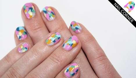 Pastel Mosaic Manicures