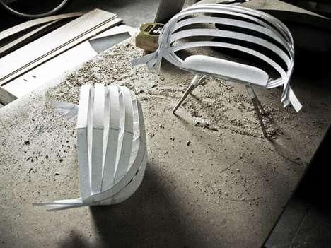 Wicker Basket Workstations