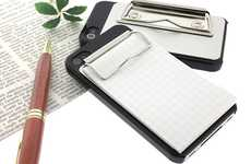 Attachable Smartphone Memorandums - The Strapya World 'Binder iPhone 4S/4 Case' Allows for Notes