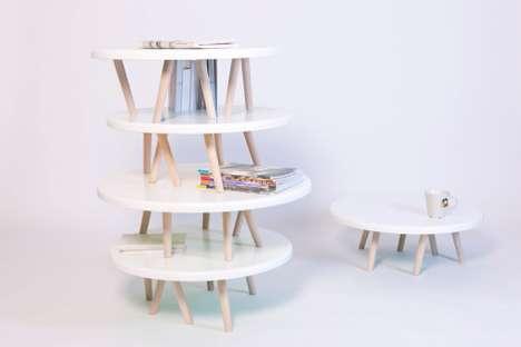 Delightful Stackable Side Tables