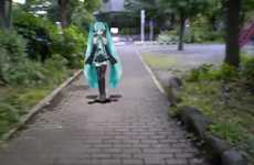Augmented Reality Companions - A Virtual Date with Hatsune Miku Provides Curious Companionship