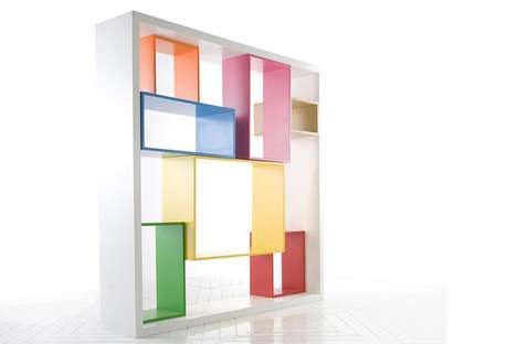 Suspended Cubby Storage Systems