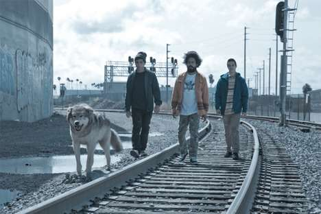 Wolf-Assisted Menswear