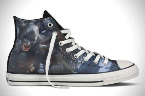 Superhero Studded Sneakers