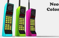 Nostalgic Smartphone Designs - The 'Retro Brick Handset' is a Wireless Bluetooth Device