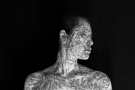 Beautifully Detailed Body Art