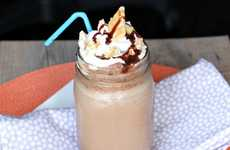 Caffeinated Campfire Chillers - The Nutella S'more Iced Coffee Is Sinfully Succulent