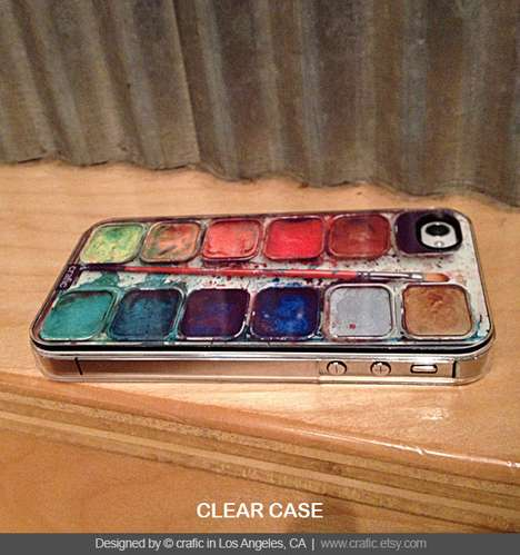 The Watercolor Set iPhone Case is Truly Artistic