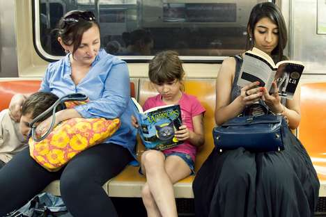 Reading Urbanite Subway Riders