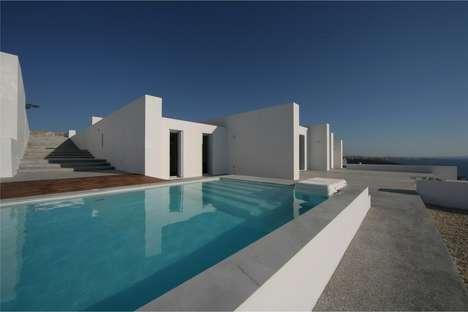 Greek Island Seaside Mansions