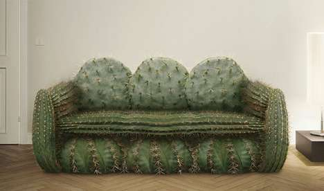 From Prickly Plant Seating to Cactus Contortionist Captures