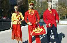 Olympic Tribal Fashions - The Spain Uniforms by Bosco Sport Reflect the Colors of the Spanish Flag