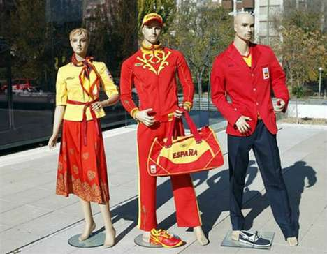 The Spain Uniforms by Bosco Sport Reflect the Colors of the Spanish Flag