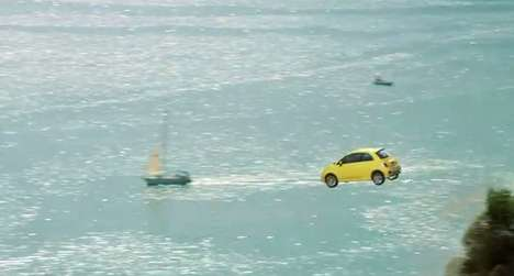Cliff-Diving Cars
