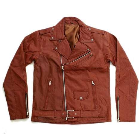 Lavish Upcycled Leather Jackets