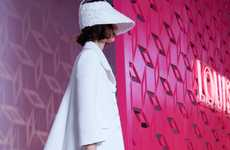 Visor-Donning Lookbooks - The Louis Vuitton Resort 2013 Collection is Offbeat and Chic