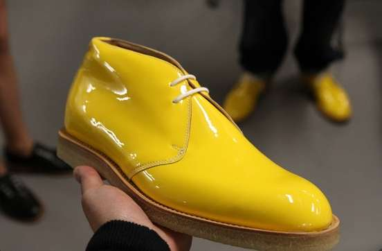 Rain Boot-Inspired Loafers