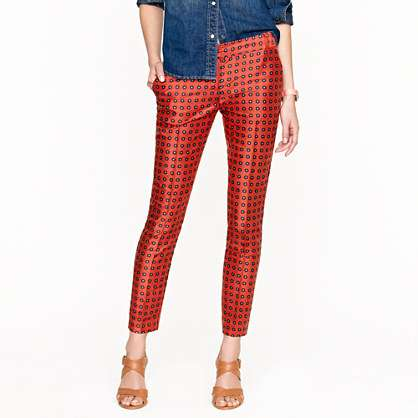 Sweetly Speckled Cigarette Pants